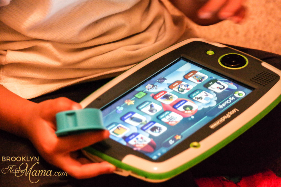 LeapPad Platinum, ImagiCard & Word Whammer Mom Review-9643