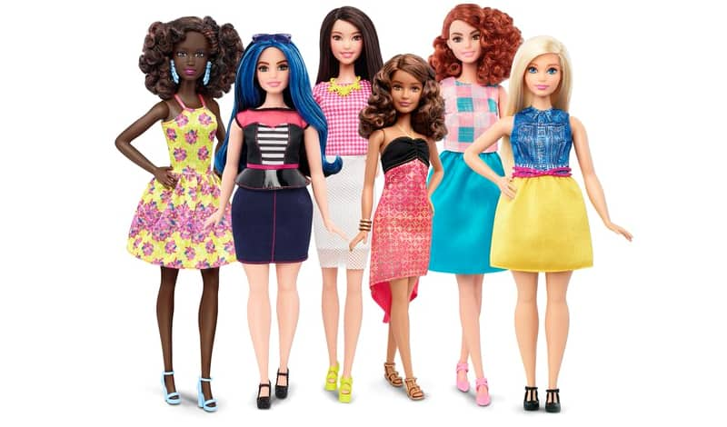 new barbie body shape plus size