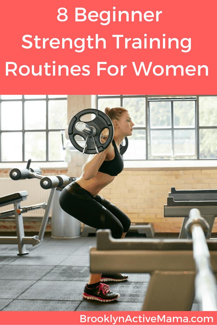 8 Beginner Full Strength Training Plans For Women