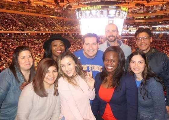 That One Time I Saw A Knick Game In The Kia Motors Suite