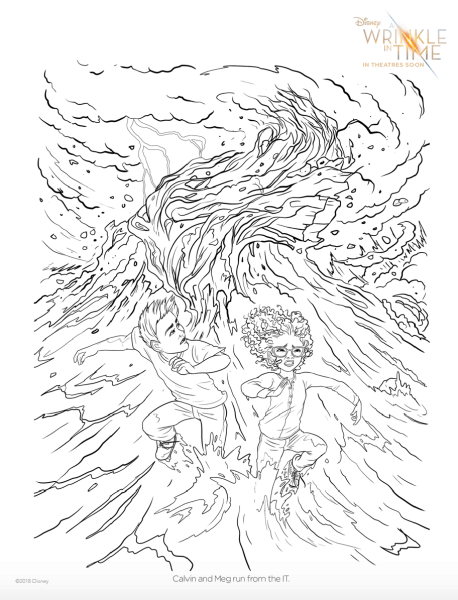 A Wrinkle In Time Movie Coloring Pages