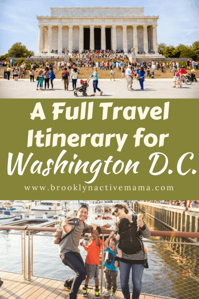 Traveling to Washington D.C.? Check out this full travel itinerary with museums, restaurants and amazing sightseeing options!