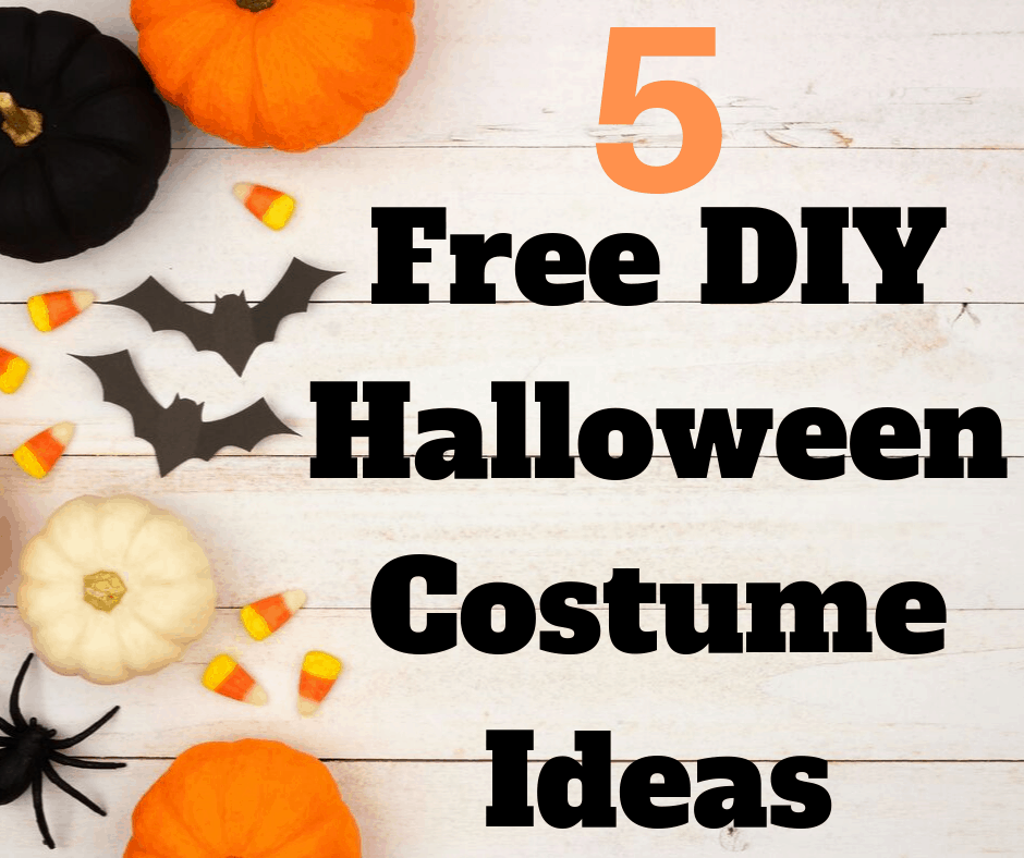 5 Easy And Free Halloween Costume Ideas Perfect For Your Budget