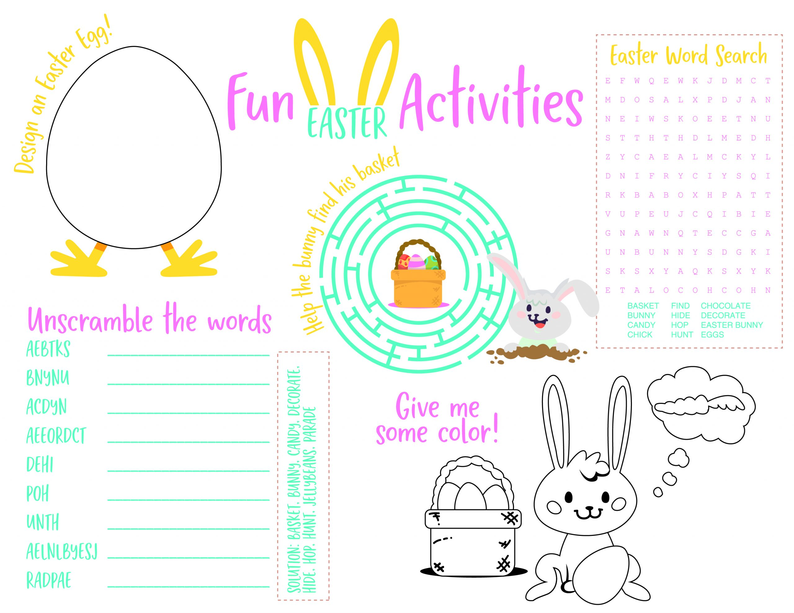 Tips For The Best Easter Egg Hunt Printable Easter
