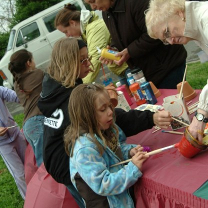 Art in the Park at Narrows Botanical Gardens - Brooklyn Archive