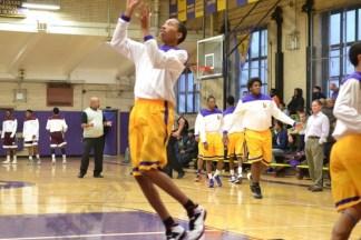 Bishop Loughlin vs. Fordham Basketball Game 01/05/2014