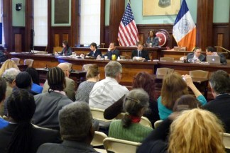 Brooklyn Heights Library Sale City Council Hearing 11/18/2015