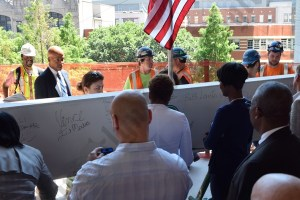 City Tech Topping Off Ceremony 06/22/2015 - Brooklyn Archive