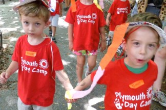 Plymouth Day Camp Crazy Hat Parade 07/03/2012
