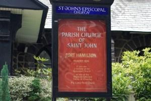 Saint John's Episcopal Church at 9818 Fort Hamilton Parkway 08/07/21012 - Brooklyn Archive