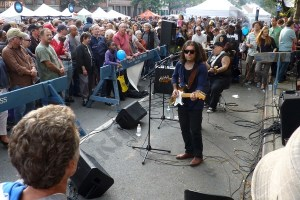 The Black coffee blues at the 2012 Atlantic Antic. - Brooklyn Archive