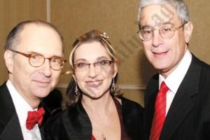 Barry Kamins, Diana Szochet, and Steve Cohn. - Brooklyn Archive