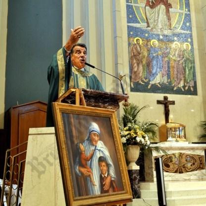 Mother Teresa Statue Dedication at Saint Athanasisus Church 09/27/2016 - Brooklyn Archive