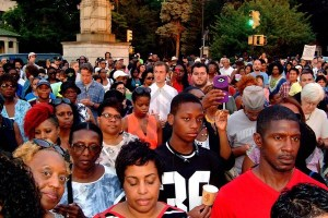 Witnessing to Hope Vigil in Grand Army Plaza 07/11/2016