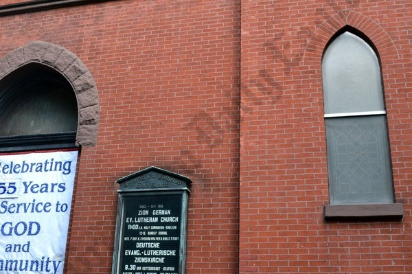 Zion German Evangelical Lutheran Church at 125 Henry Street - Brooklyn Archive