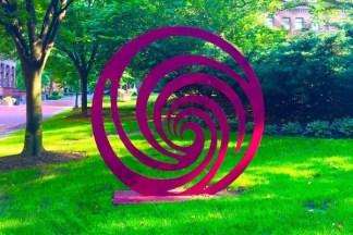 Sculptures at Pratt Institute, June 2017 - Brooklyn Archive