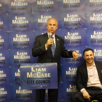 Liam McCabe Campaign Headquarters Grand Opening 08/22/2017 - Brooklyn Archive