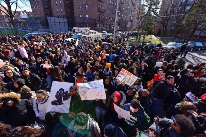 School Walk Out for Gun Control 03/14/2018 - Brooklyn Archive