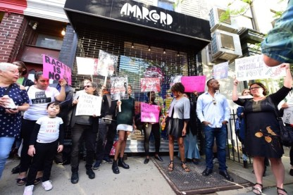 Amarcord Racial Profiling Protest 05/10/2018 - Brooklyn Archive