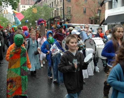 St. Ann's Puppet Parade 2008 - Brooklyn Archive