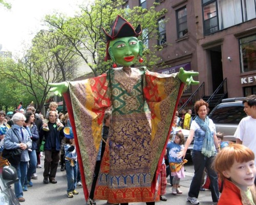 St. Ann's Puppet Parade 2010 - Brooklyn Archive