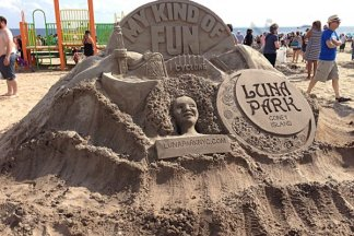 Coney Island Sand Sculpture Competition 08/18/2018