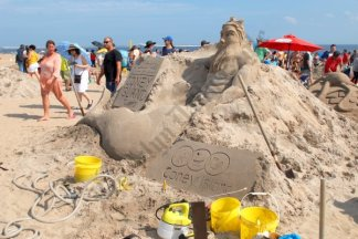 Coney Island Sand Sculpture Competition 08/18/2018 - Brooklyn Archive