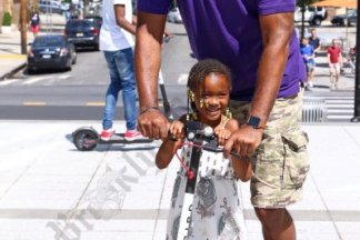 Bird Scooter Demonstration 08/30/2018 - Brooklyn Archive