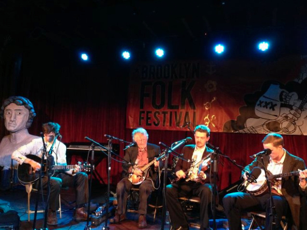 The Down Hill Strugglers with John Cohen at the Brooklyn Folk Festival (Down Home Radio)