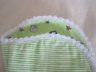 Crochet Edging on Blankets