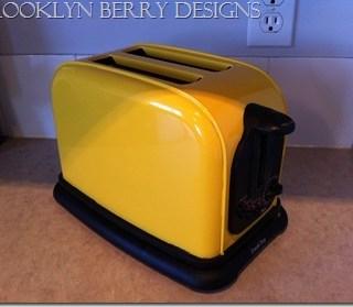 DIY Yellow Toaster