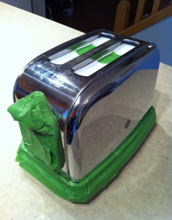 Painted Toaster