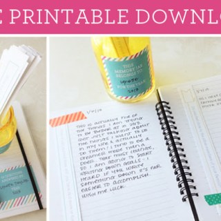 DIY Your Own Line A Day Journal