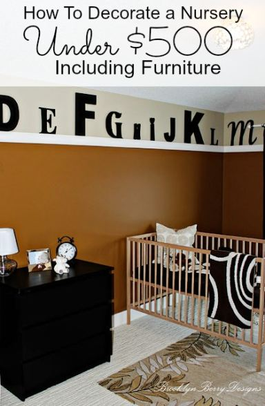 HOW TO DECORATE A CHILDS ROOM FOR LESS THAN $500