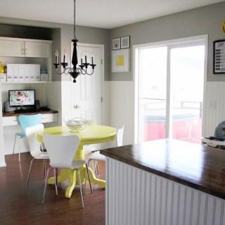 Bright Family Kitchen DIY Under $500