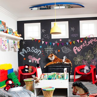 Kids Rooms Art Ideas- Using Art to Add Color to a Space