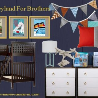 Disney Inspired Boys Room