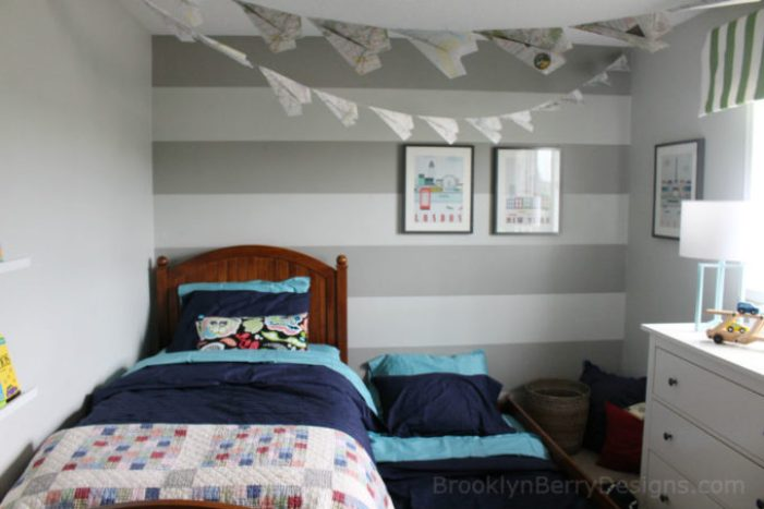 Trundle Bed boys room