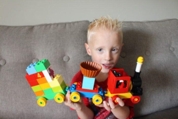 Meeting Milestones with Lego Duplo