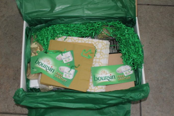Irresistible Treat Box from Boursin