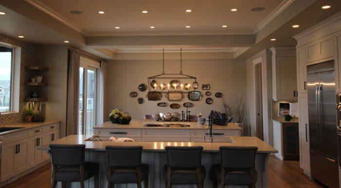 Luxury Lake House Kitchen Dining