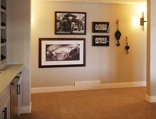Basement Gallery Wall