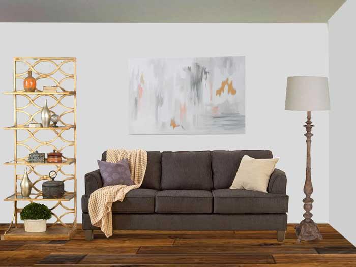 Living Room Art E-Design After