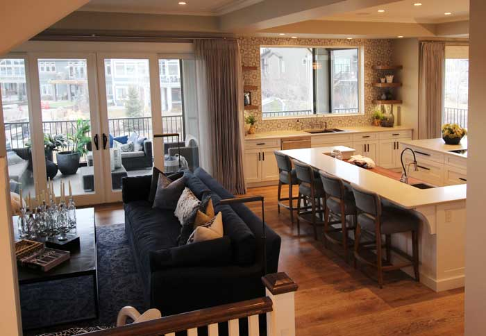 Luxury Lake House Great Room