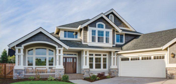 Home Exterior using LP SmartSide