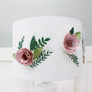 Paper Flower Lamp Shade