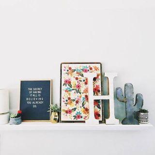 Design Trend: Letter Board & Lightbox