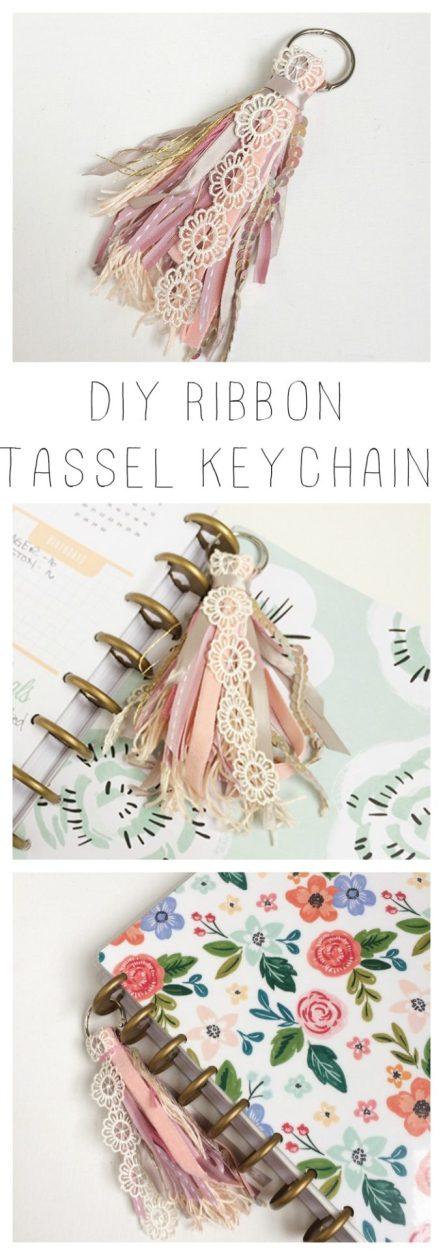 ribbon-tassel-keychain