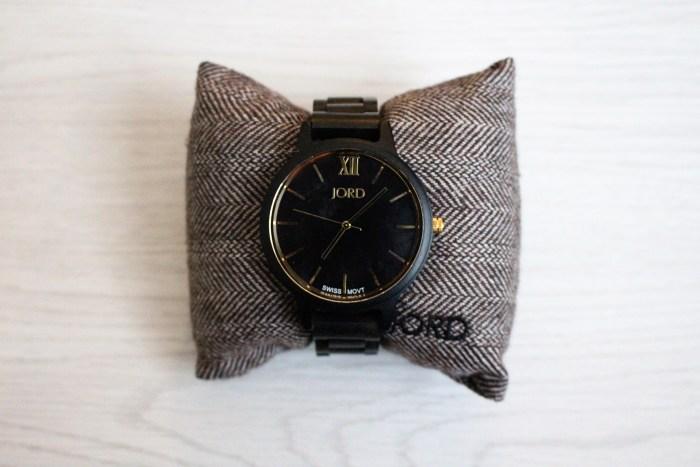 Wood Watches Frankie ebony gold