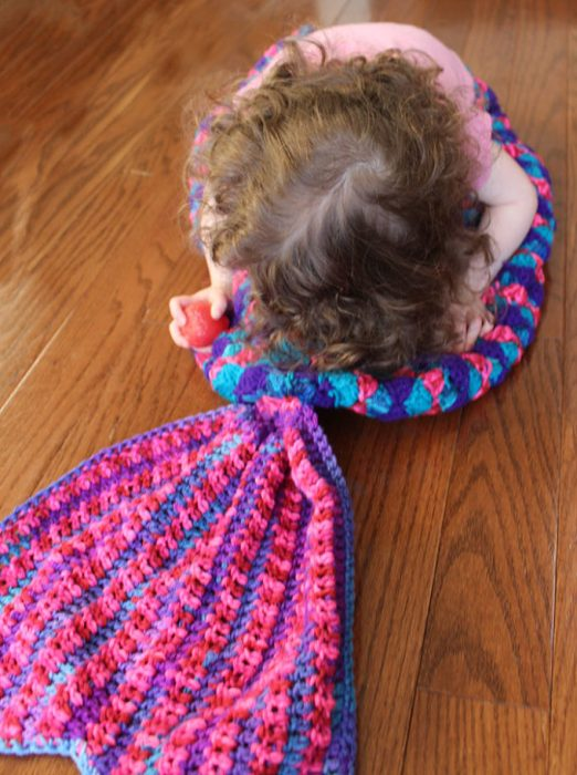 Crochet Mermaid Tail